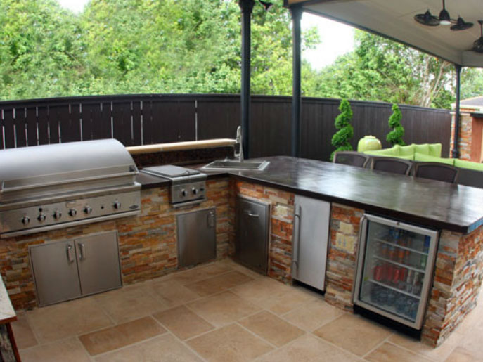 Outdoor Kitchens Dallas - Outdoor Kitchen, Kitchen Design, Outside ...