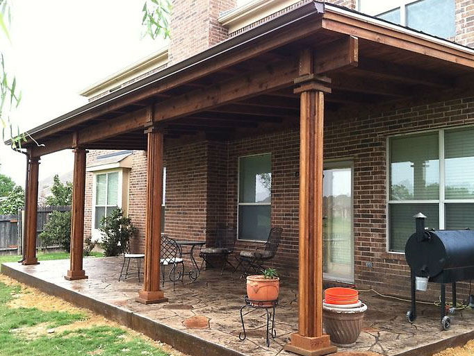 patio covers dallas - covered patio, patio cover, patio design ... - Patio Roof Design