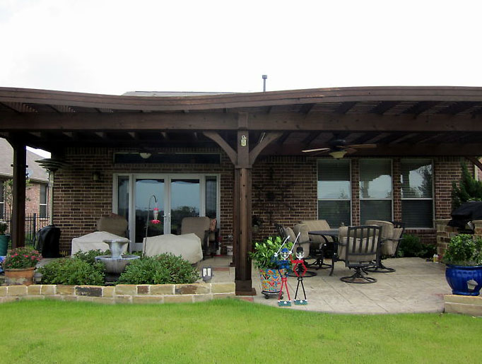 Patio Covers Dallas - Covered Patio, Patio Cover, Patio ... on Patio Covers Ideas  id=31683