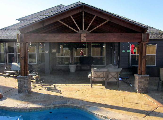 Patio Covers Dallas - Covered Patio, Patio Cover, Patio ... on Backyard Patio Cover  id=12660